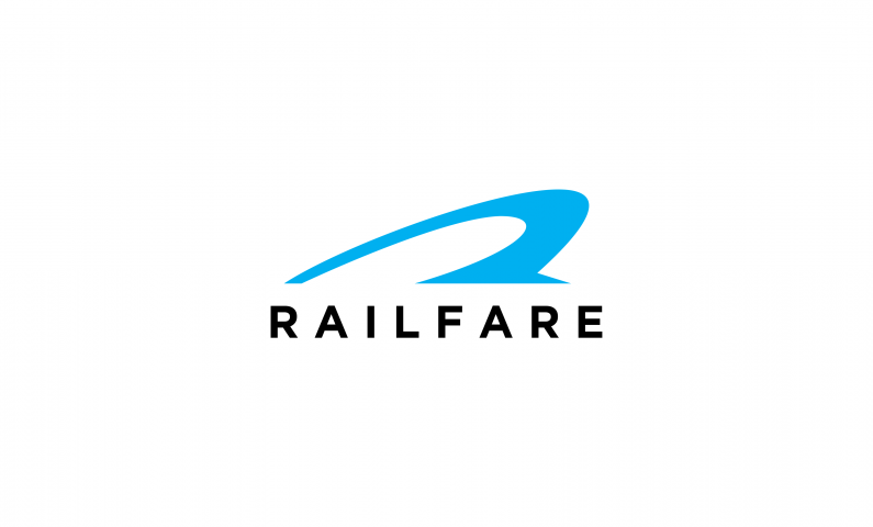 RailFare logo