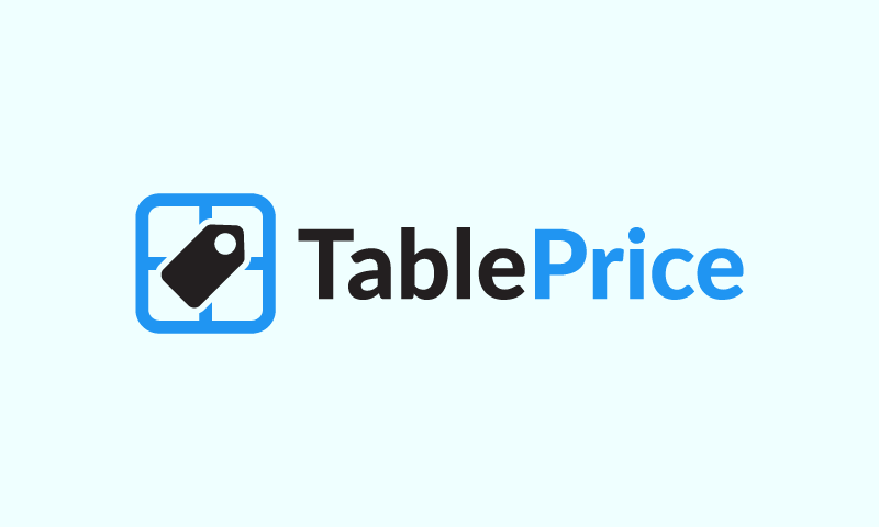 Tableprice - Business domain name for sale