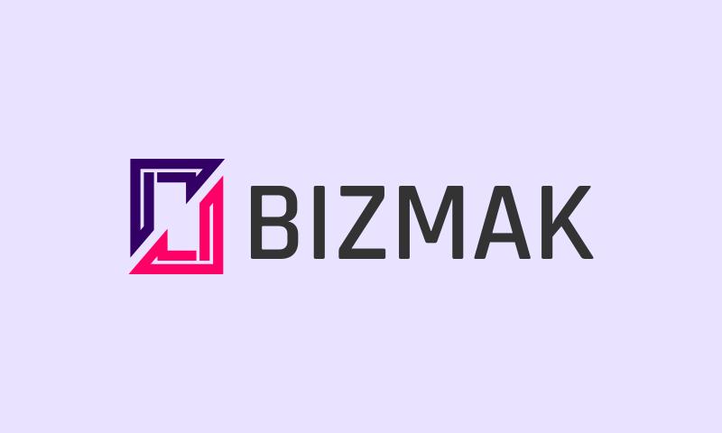 Bizmak - Import / export startup name for sale