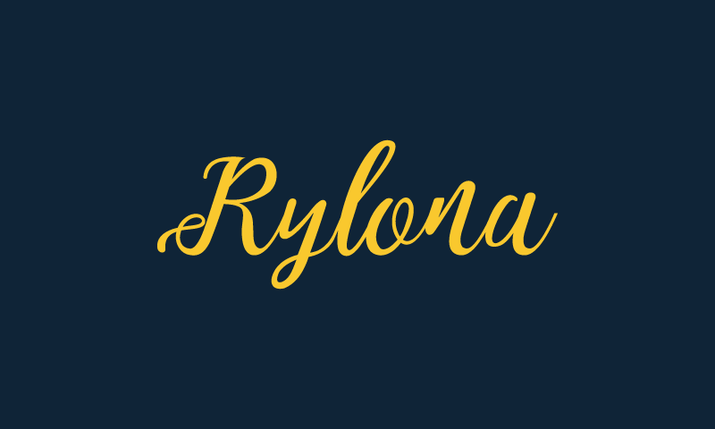 Rylona - Music company name for sale