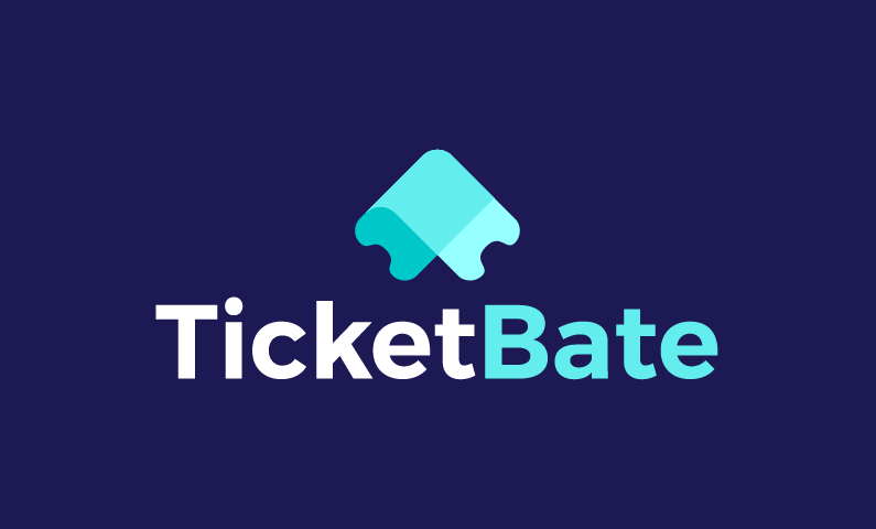 Ticketbate - Ticketing business name for sale