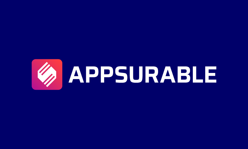 Appsurable - Technology domain name for sale