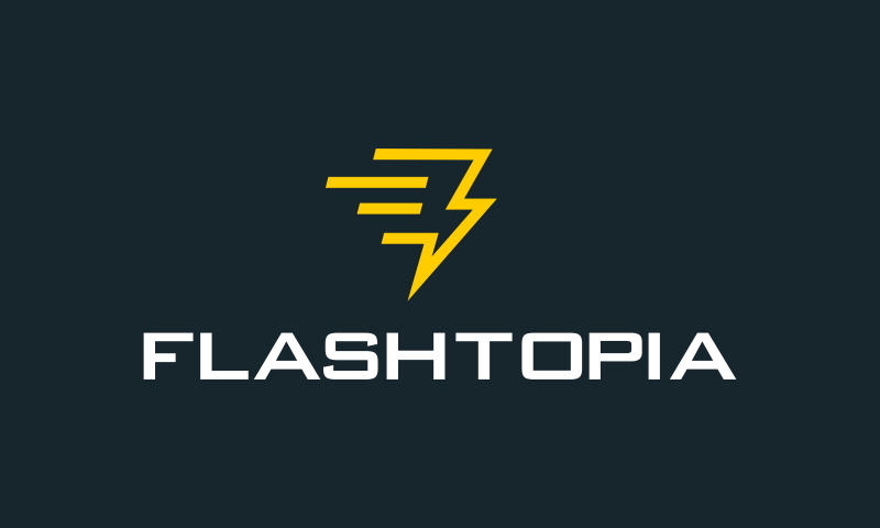 Flashtopia - Fashion company name for sale