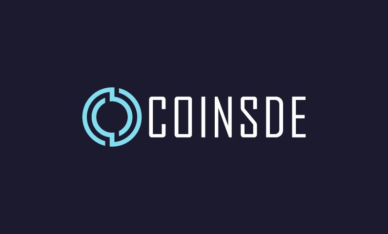 Coinsde - Finance startup name for sale
