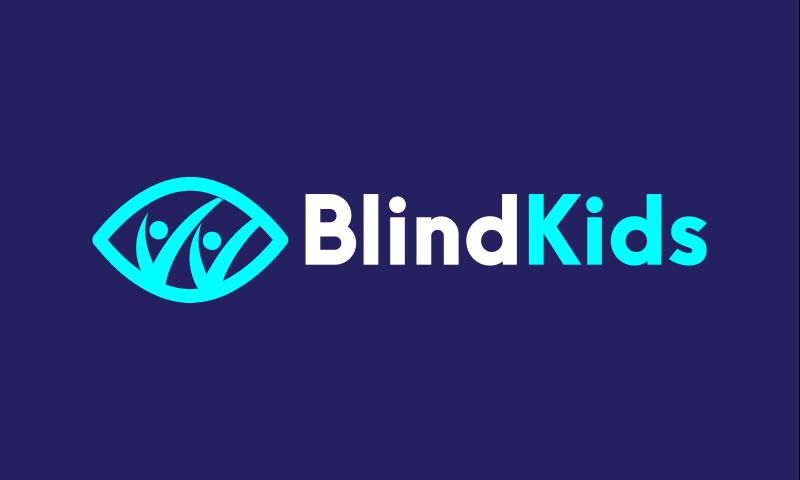 Blindkids - Wellness startup name for sale