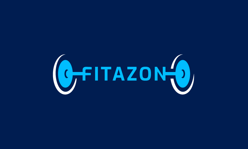 Fitazon - Fitness company name for sale
