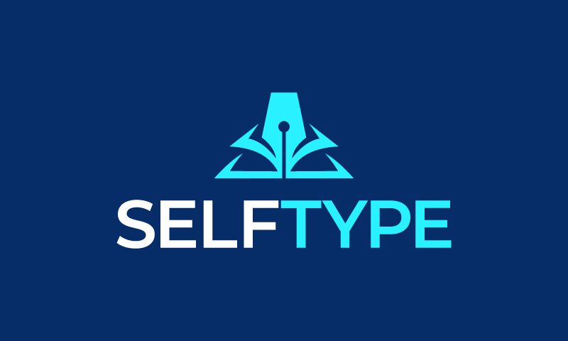 Selftype - Writing company name for sale