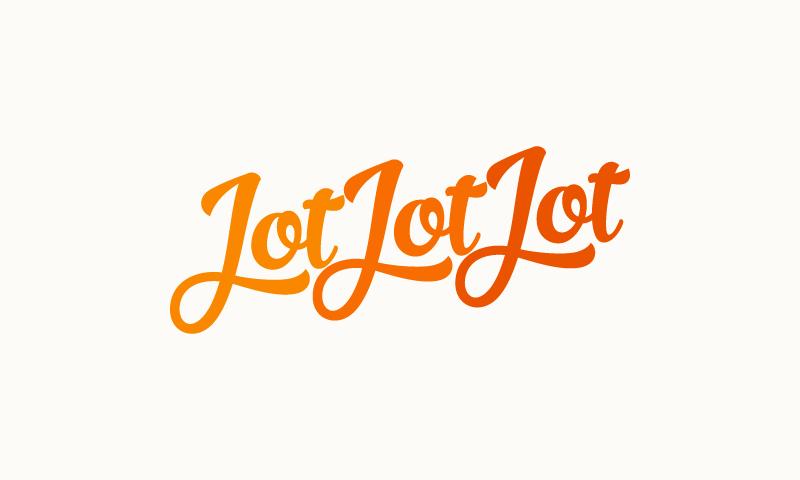 Jotjotjot - Marketing business name for sale