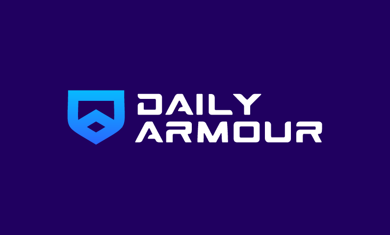 Dailyarmour - E-commerce business name for sale