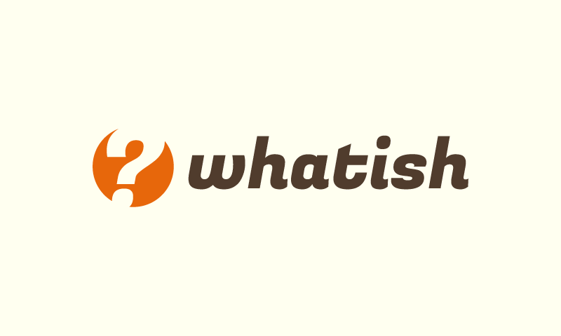 Whatish - Social business name for sale
