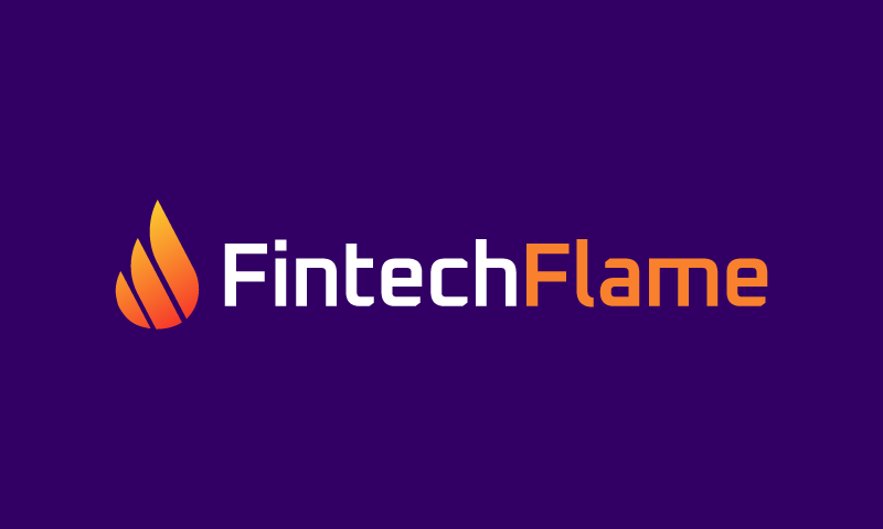 Fintechflame - Technology brand name for sale