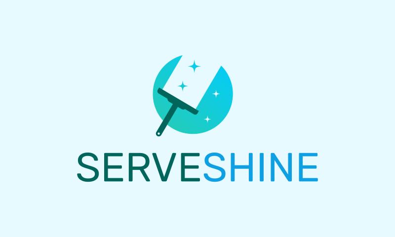 Serveshine - Technology business name for sale