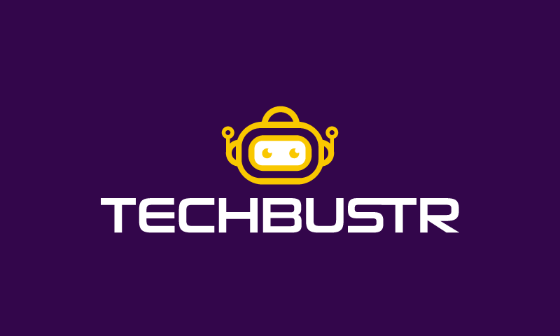 Techbustr - Technology startup name for sale