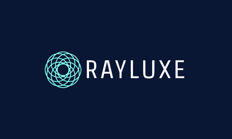 Rayluxe - Beauty startup name for sale