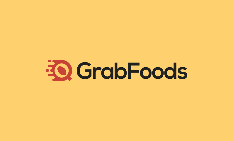 Grabfoods - Food and drink company name for sale