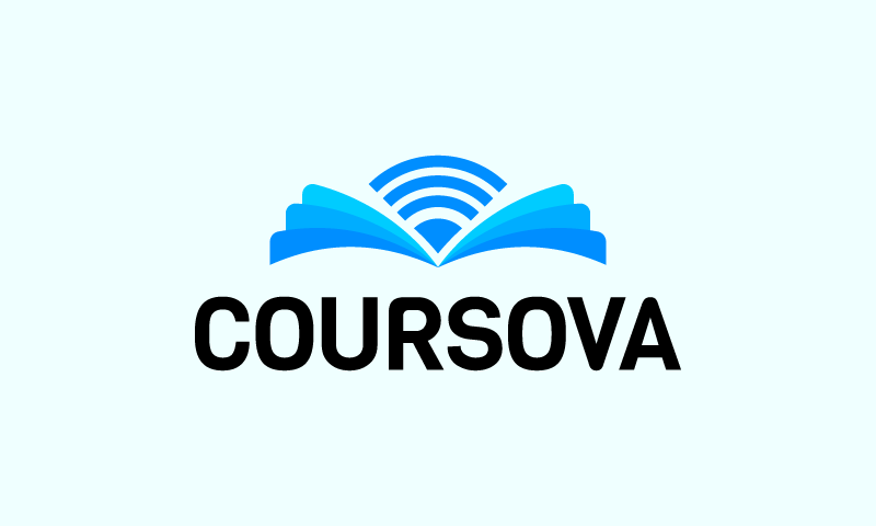 Coursova - E-learning startup name for sale