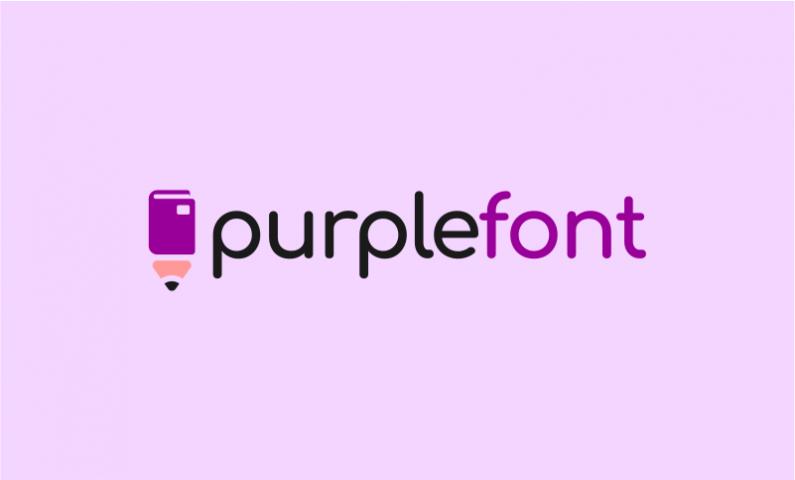 Purplefont
