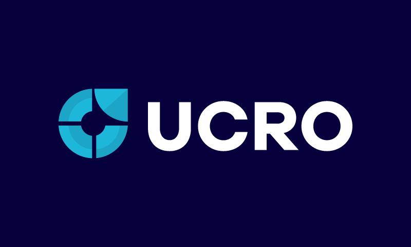 Ucro - Media domain name for sale