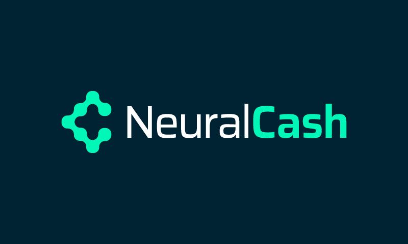 Neuralcash - Finance startup name for sale