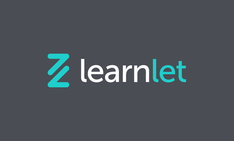 learnlet logo - Business name for a company in the education industry