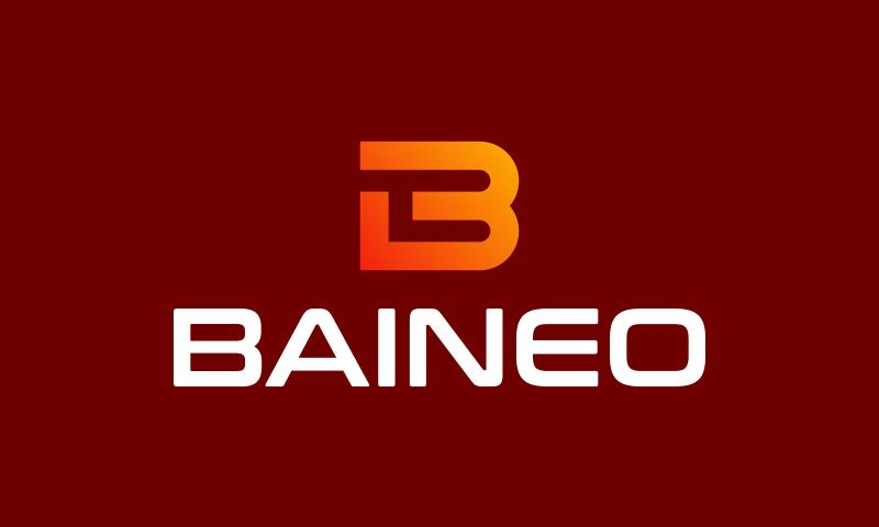 Baineo - Media domain name for sale