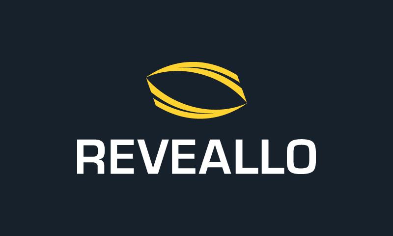 Reveallo - Technology company name for sale