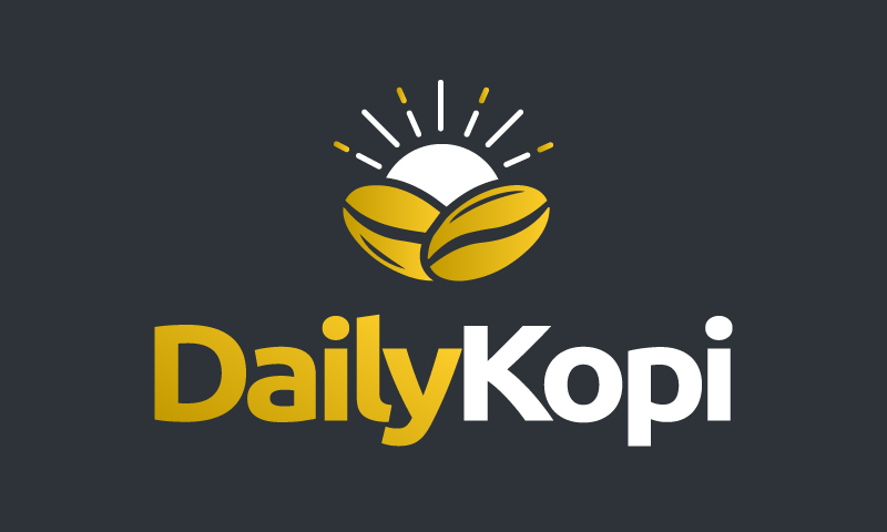 Dailykopi - Food and drink business name for sale