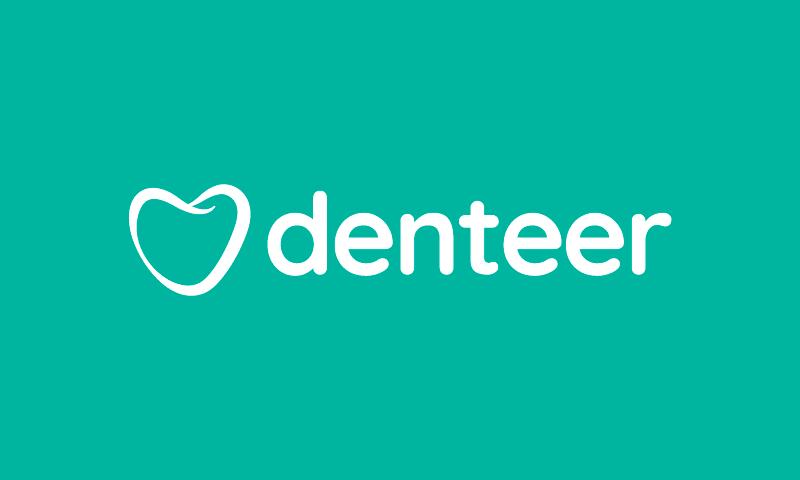 Denteer - Dental care business name for sale