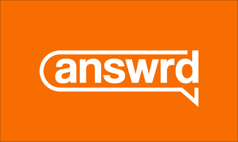 Answrd - Technology domain name for sale