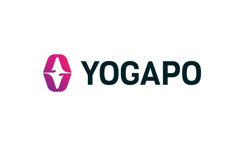 Yogapo - Retail startup name for sale