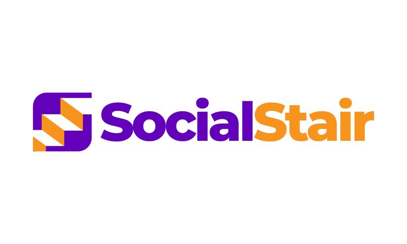 Socialstair - Social domain name for sale