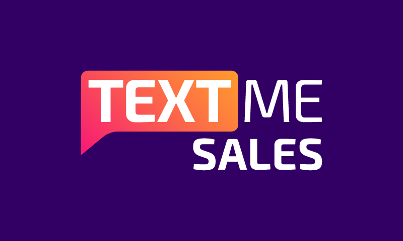 Textmesales - Sales promotion business name for sale