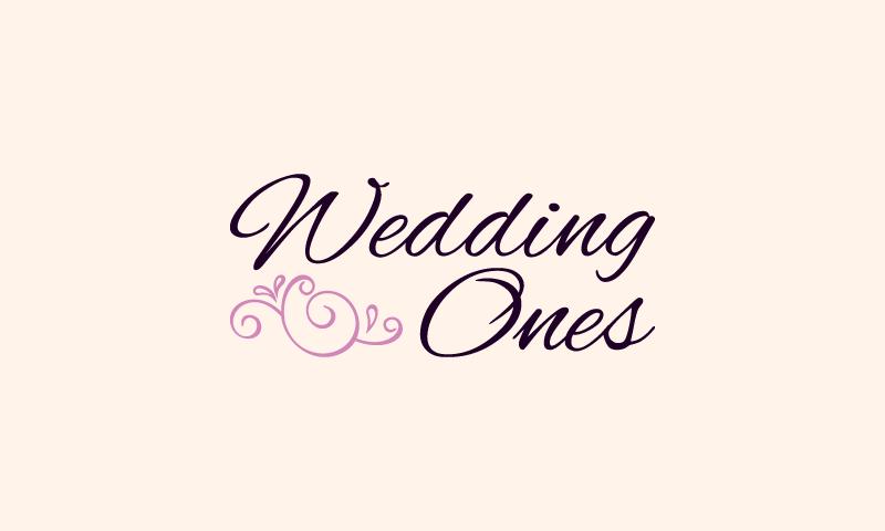 Weddingones - Weddings company name for sale