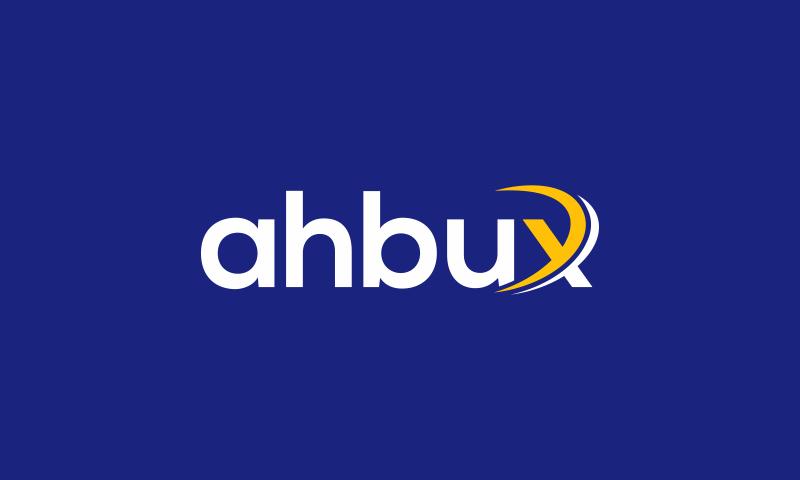Ahbux - Finance company name for sale