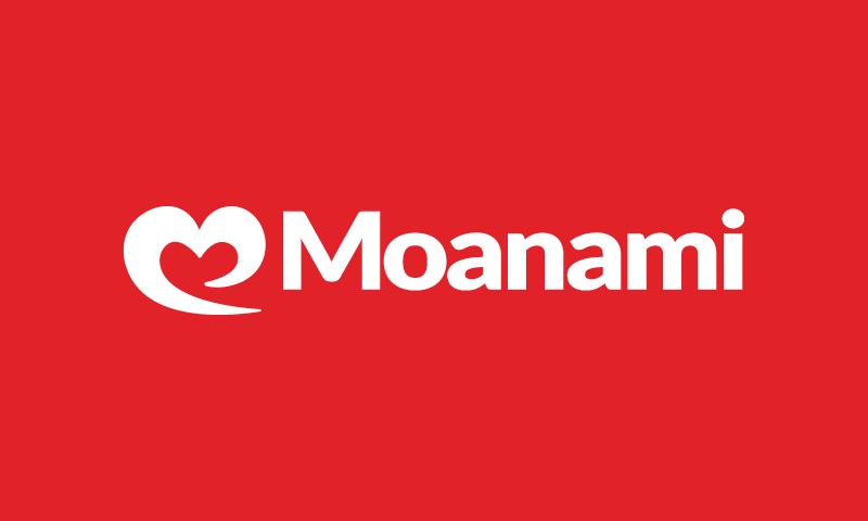 Moanami - Entertainment domain name for sale
