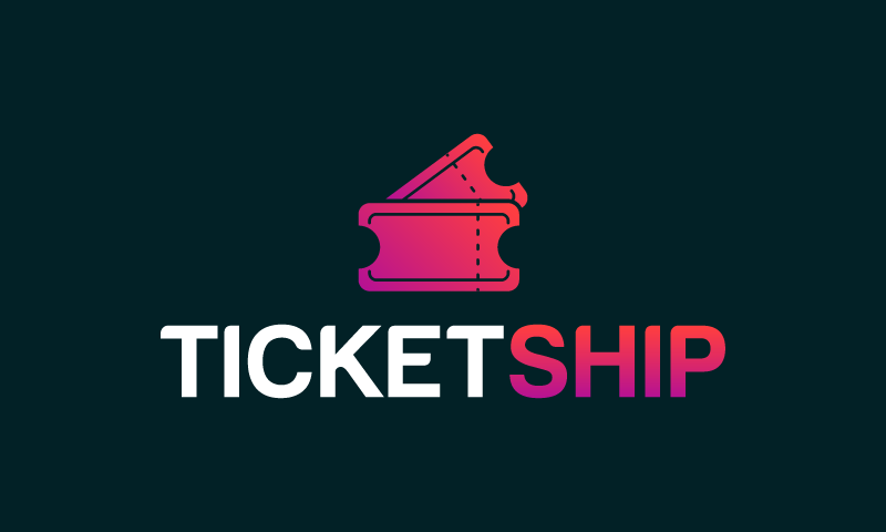 Ticketship - Marketing company name for sale