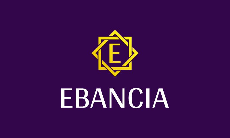 Ebancia - Technology brand name for sale