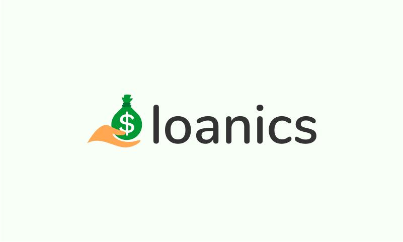 Loanics - Loans brand name for sale
