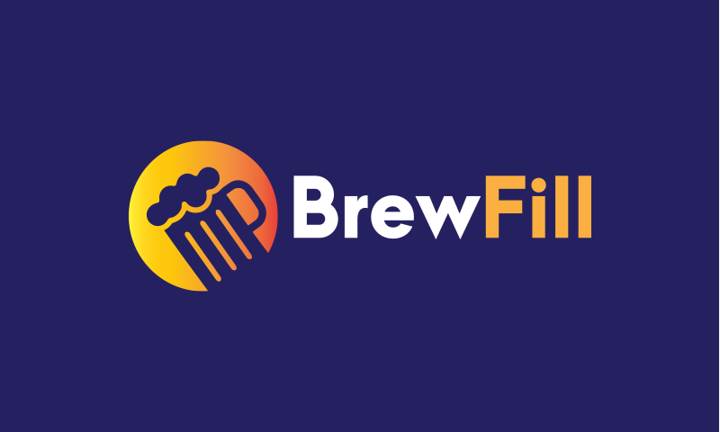 Brewfill - Drinks brand name for sale