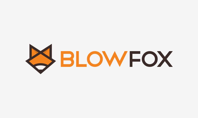 Blowfox - Modern startup name for sale