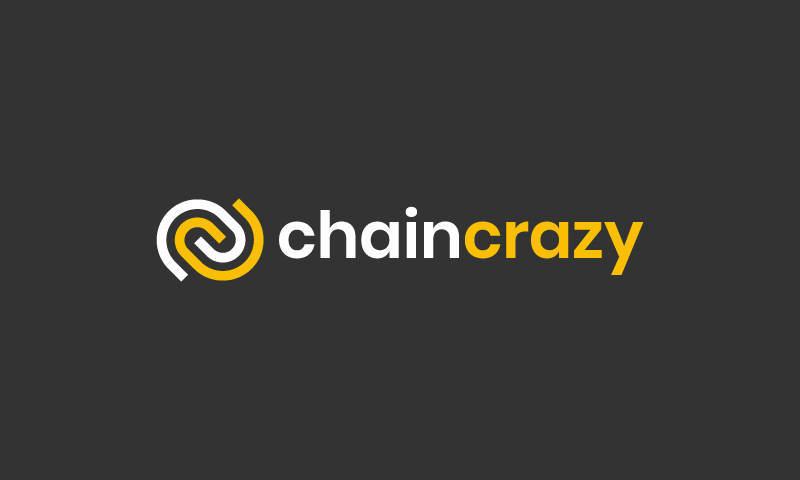 Chaincrazy - Cryptocurrency company name for sale