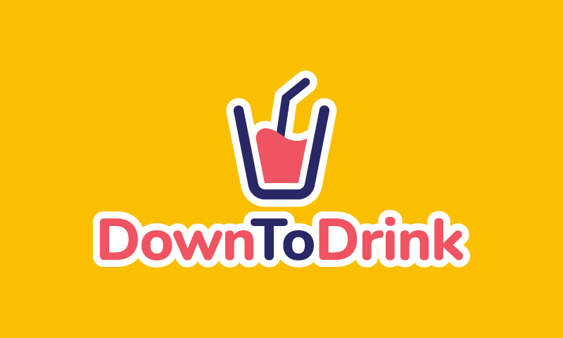 Downtodrink - Food and drink brand name for sale