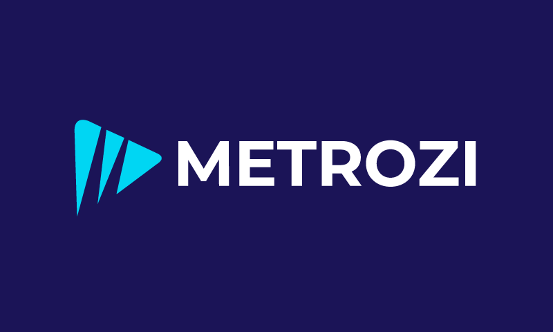 Metrozi - E-commerce domain name for sale