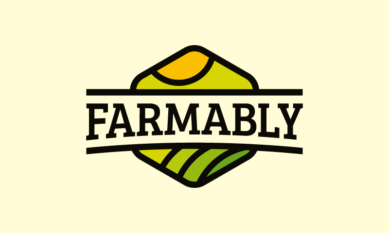 Farmably - Farming brand name for sale