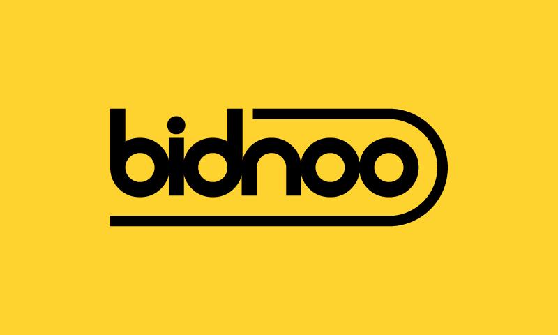 Bidnoo - Technology brand name for sale