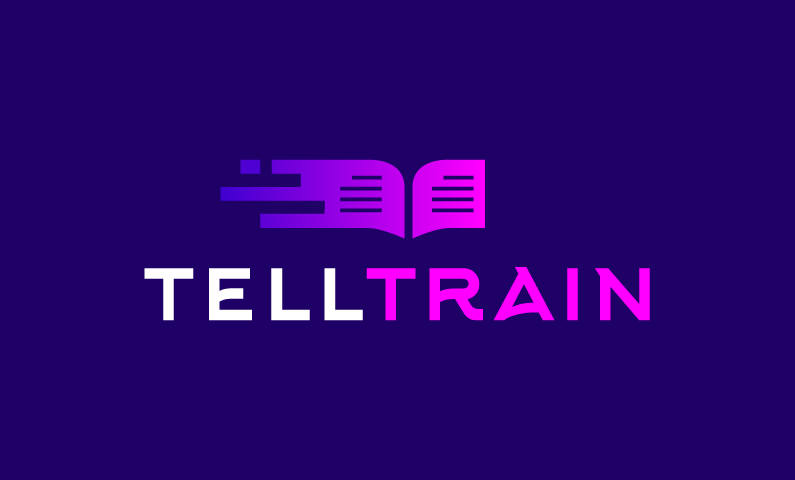 Telltrain - Support company name for sale