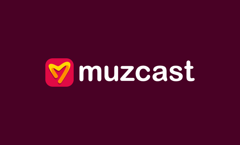 Muzcast - Music brand name for sale