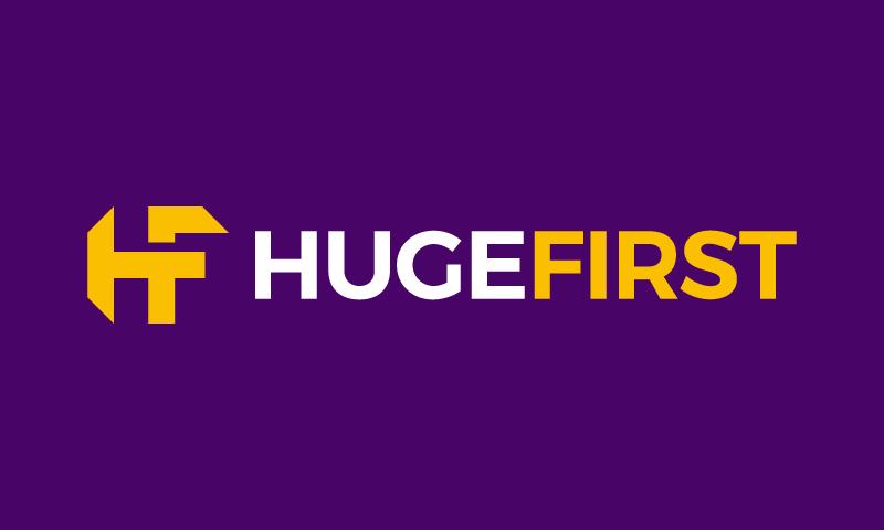 HugeFirst logo