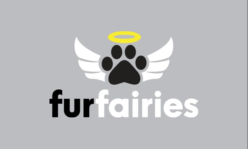 Furfairies - Pets company name for sale