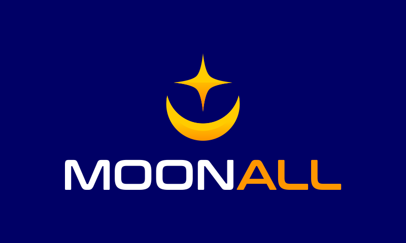 Moonall - Space domain name for sale